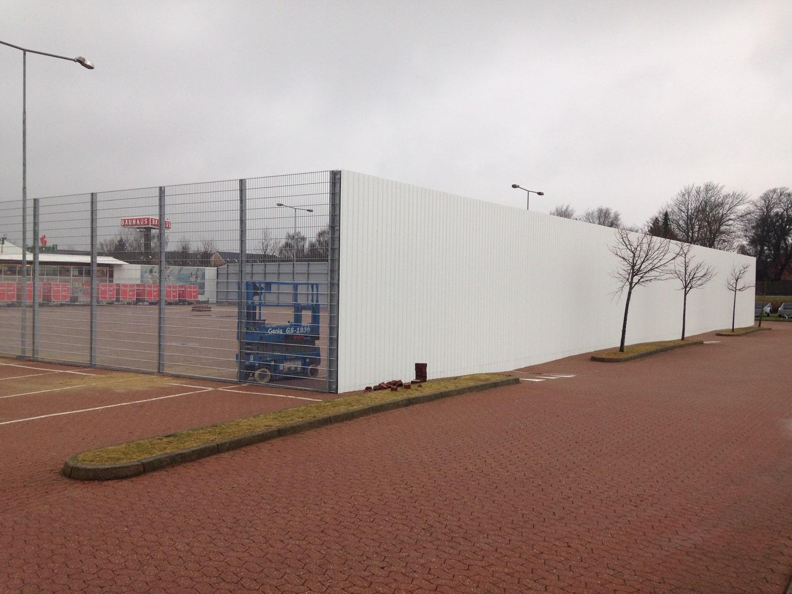 Picture of: Hegn Som Afskaermning Flot Industrisikring Pit Hegn
